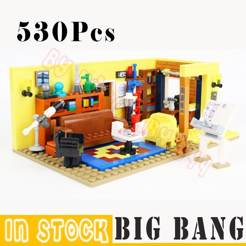530Pcs TV Blocks Toys Friends Model Building Block Bricks Model Sets Drama Classic Television Kids Children Gifts DIY